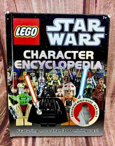 lego star wars character encyclopedia book featuring more than 300 minifigures Encyclopedia Books, Star Wars Characters, Lego Star Wars, My Ebay, Stars, Shop, Kids, Children, Star