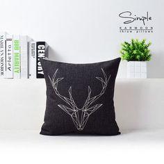 Deer LOVE Pillow