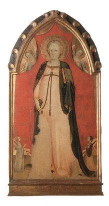 : La Madonna del parto di Taddeo Gaddi