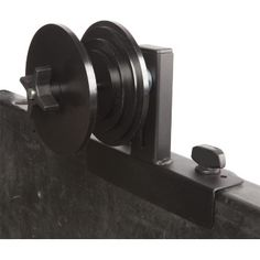 """MOOSE UTILITY DIVISION POLARIS RANGER SPARE TIRE ATTACHMENT.  The spare tire mount includes the bracket and anchors for simple, tool less installation of the bracket that allows for the secure mount and transport of your spare tire. Fits all wheel and tire sizes.  """"VISIT SITE"""" ABOVE FOR ALL INFO."""