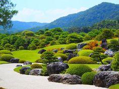 Adachi Museum of Art (足立美術館) Garden Forum, Garden Park, Prado, Amazing Gardens, Beautiful Gardens, Adachi Museum Of Art, Landscape Design, Garden Design, Vegetable Planting Guide