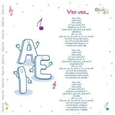Preschool Spanish, Preschool Songs, Spanish Activities, Spanish Classroom, Teaching Spanish, Songs For Toddlers, Kids Songs, Teaching Music, Teaching Kids