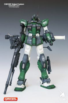 1/60 GM Sniper Custom Over Dard C3 2011 - Painted Build | NGS BLOG