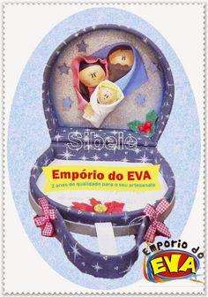 Maleta Presépio em EVA - Empório do EVA