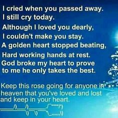 God broke my heart to prove to me he only takes the best and you are the greatest son grandson brother nephew brother in Law uncle and friend Missing My Son, Losing A Loved One, Complicated Grief, Loved One In Heaven, Miss You Dad, You Are The Greatest, Golden Heart, Losing Someone, Passed Away