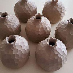 """Art is not what you see, but what you make others see."" #edgardegas #quote #ceramic #keramik #seramik #sanat #artoftheday #art #homedecor #decoration #pomegranate #nar #bereket #handmade #gift #christmas #hediye #yilbasi #elyapimi #pottery #clay #interiordesign #design"
