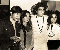 Devanand, Perveen Babi, Vinod Khanna & Tina Munim