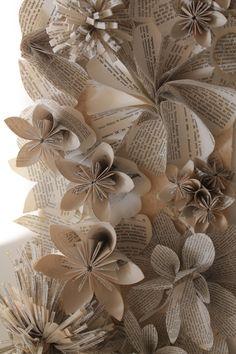 Inspirar Ateliê - detalhe painel de flores na decoração.