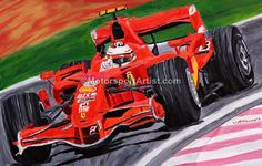 LEWIS HAMILTON HUNGARIAN GP 2007 A3  ART PRINT
