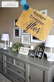 This Little Estate: Master Bedroom Furniture Redo