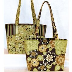 Free Fabric Handbag Patterns | Quilt Patterns for Totes, Purses and Bags                                                                                                                                                                                 More