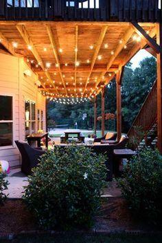 Best Space Under Deck Design Ideas 26