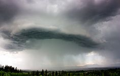 Shelf cloud over Snohomish, Wash. in July, 2012. (Photo: Jonathan Cooper)