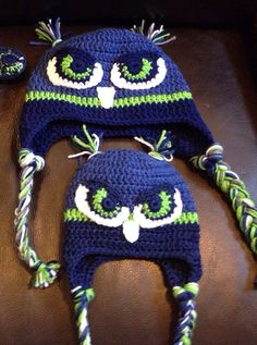 Seattle Seahawks Hawk Hat