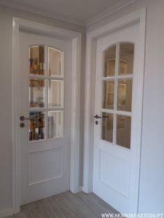 SENHOR FAZ TUDO - Faz tudo pelo seu lar !®: Pintura das portas e aduelas do apartamento da Póv...