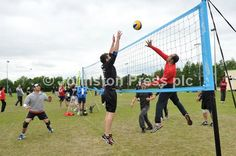 The Suffolk Open is the Suffolk Volleyball Association's annual outdoor tournament