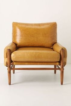 leather chair | camel color