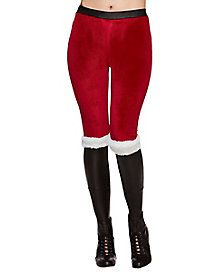 1a56b2323b24c Santa Leggings Christmas Costumes, Spirit Halloween, Ugly Christmas Sweater,  Sweatpants, Dress Up