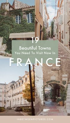19 Underrated And Beautiful Cities in France You Need To Visit France is more than Paris, and if you haven't visited other places, you are missing out big time! Here are 19 beautiful cities in France that you cannot miss! Europe Destinations, Europe Travel Guide, France Travel, Travel Guides, France Europe, Europe Packing, Traveling Europe, Backpacking Europe, Packing Tips