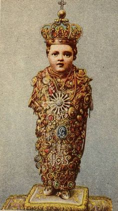 S. Bambino di AracoeliThe miraculous statue of the Holy Infant in the basilica of Santa Maria Aracoeli in Rome.The image is particularly venerated during the Christmas season. Every year children of all ages address letters of petition to the Bambino.