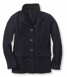 """Boiled wool jacket.  $129.  I like it, but maybe not for the price... however jackets are quite useful in Tx """"winters"""""""