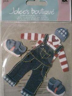 Little Boy clothes stickers