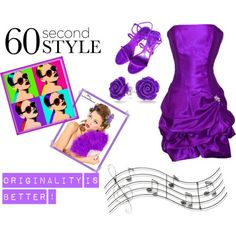 Untitled #78 by unicornslifeever on Polyvore featuring PacificPlex, Sergio Rossi, Bling Jewelry, Music Notes, Prom and 60secondstyle