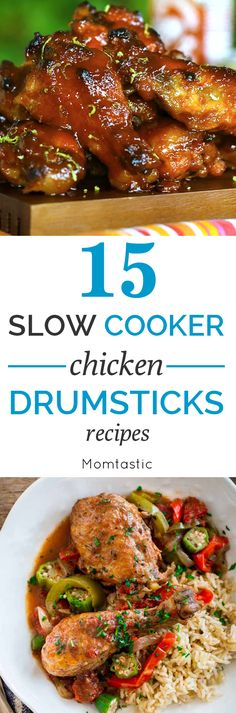 15 slow cooker chicken drumsticks recipes