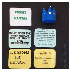 Our Awesome Prophets – Towards Jannah History Activities, Activities For Kids, Islam For Kids, Islamic Teachings, Learning Objectives, Ramadan Decorations, Religious Education, Little Learners, Islamic Pictures