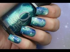 Some people wanted a tutorial on galaxy nails, so here it is. This is green/blue galaxy nails, but you can use any colors you want! Nail polishes used: Orly ...