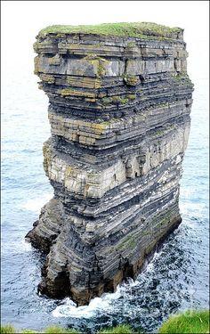 Dun Bristle Seastack - Ballycastle, Ireland
