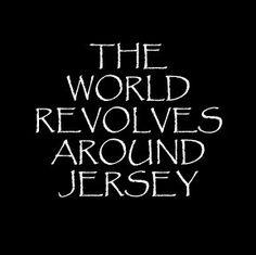 Revolves around Jersey