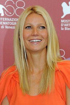 Gwyneth Paltrow Long Straight Cut - Gwyneth Paltrow Long Hairstyles - StyleBistro