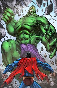 Superman Hulk Fun By Mikemaluk by SiriusSteve on DeviantArt