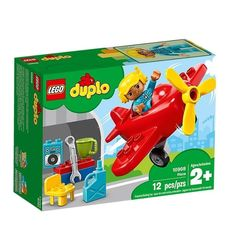 LEGO Duplo 10908 Plane Provide Tracking Number for sale online Lego Duplo Town, Lego City, Star Wars Minifigures, Lego Star Wars, Avion Lego, Lego Airport, Best Toddler Toys, Free Lego, Airplane Toys