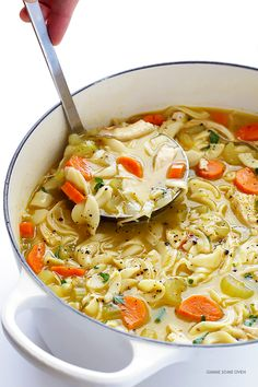 Soft Food Ideas For Dentures and Braces Wearers - Authority Dental - rosemary chicken noodle soup Soup Recipes, Diet Recipes, Cooking Recipes, Healthy Recipes, Soft Food Recipes, Simply Recipes, Ham Recipes, Recipies, Braces Food