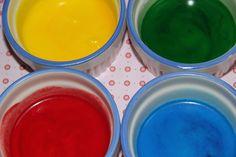 Vízfesték házilag (környezetbarát) Kids Crafts, Shibori, Handmade, Objects, Diy, Teacher, Painting, Creative, Kids