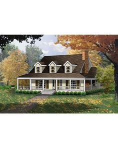 AmazingPlans.com House Plan #rkd2143-11 - Colonial, Country, Ranch, Southern