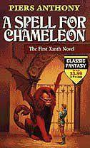 BOOK: A Spell for Chameleon. Wierd but entertaining