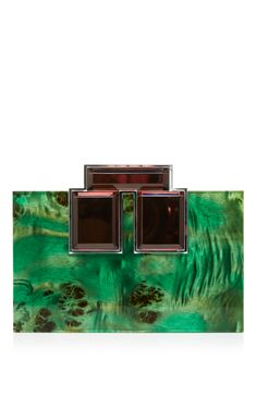 Brutalist Briarwood Mink Clutch by RAUWOLF Now Available on Moda Operandi  Emerald City, Emerald Green 2e2d22c0b8