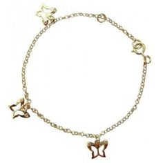 Children's jewelry:  Can't find a gold children's bracelet for the special girl in your life under $150?  Try this:  $84.87