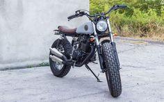 Honda Tiger 200 Brat Style MM8 by MalaMadre Motorcycles