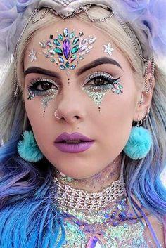Fairy Unicorn Makeup Ideas For Parties  | makeup | | beauty | |fashion | #makeup #beauty #fashion https://www.fabledwhimsy.com