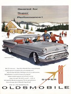 Oldsmobile Super 88 Holiday Coup