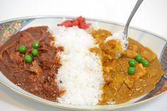 【食品サンプル】カレー&ハヤシライス【洋食】