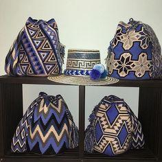 "386 Likes, 6 Comments - Wayuuu Style Store (@wayuustylestore) on Instagram: ""Wayuu Bags! . #wayuubags #bolsaswayuu #wayuumochilas..... #missgbags with @wayuustylestore Variety…"""