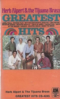 Greatest Hits by Herb Alpert & the Tijuana Brass (Cassette) #Trumpet