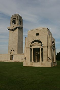 Villers-Bretonneux Military Cemetery & Australian Memorial  Fouilloy  Somme  France  Sir Edwin L. Lutyens (1869- 1944), Principal Architect  George Hartley Goldsmith (1886/7-1967), Assistant Architect  CWGC WW1 Cemetery & Memorial
