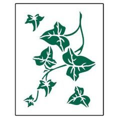 Ivy Stencils Free Downloads | Can't find the perfect clip-art?