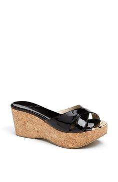 Jimmy Choo 'Prima' Cork Platform Sandal (Women) available at #Nordstrom